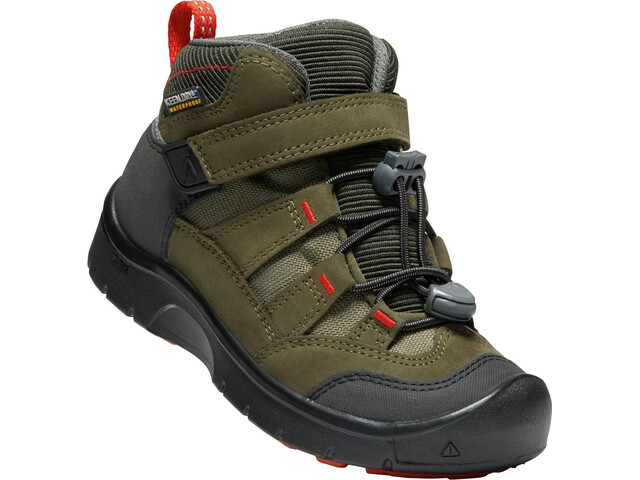 Keen Kids Hikeport WP Mid Shoes martini olive/pur